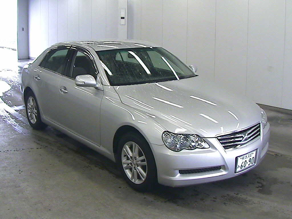 Used Toyota Mark X 2008 in Japan car auction