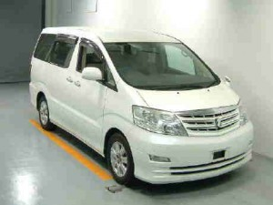 Used Toyota Alphard in Japan Auto Auction