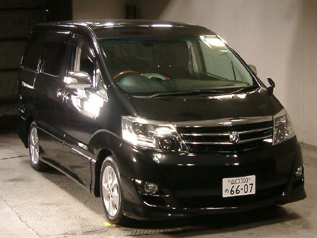 Used Toyota Alphard 2008 in Japan Auto Auction