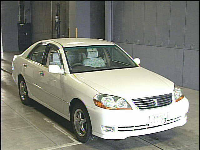 Used Toyota Mark II 2004 in Japan car auction