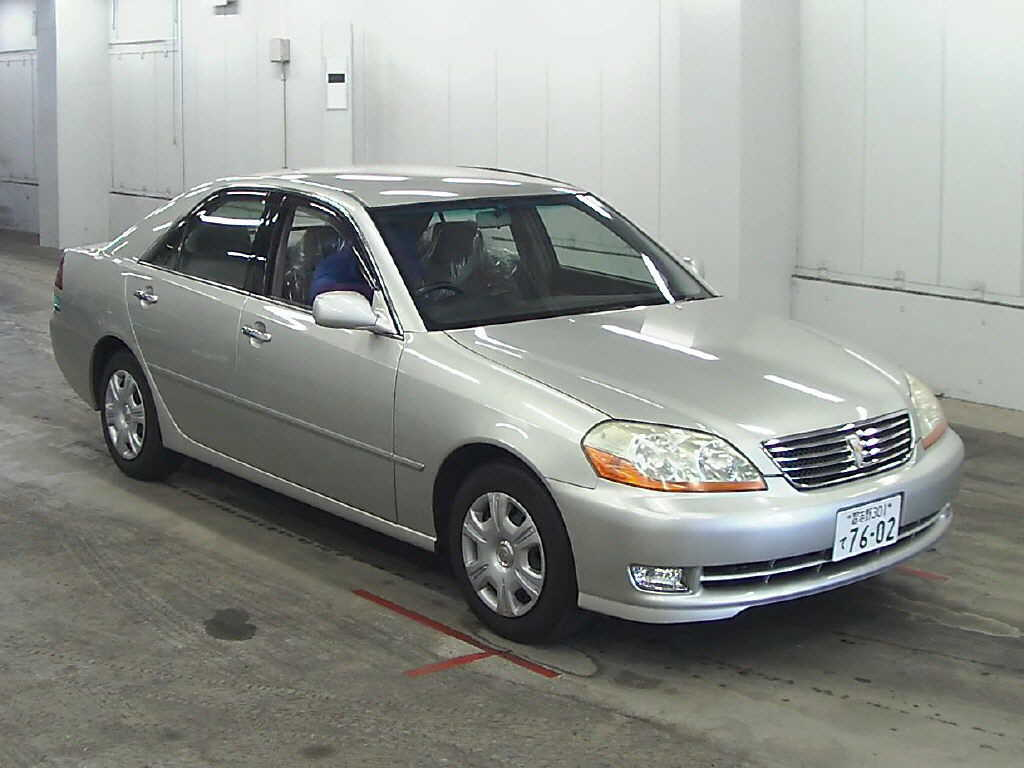 Used Toyota Mark II in Japan Auto Auction