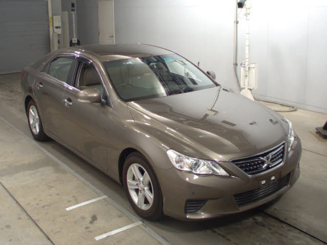 Used Toyota Mark X 2009 in Japan car auction