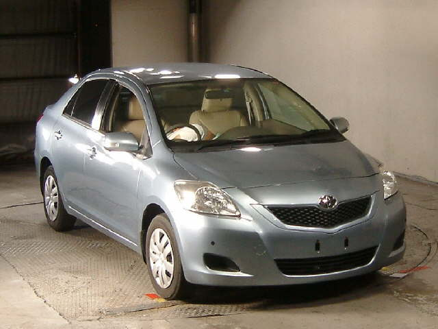 Front View of Toyota Belta