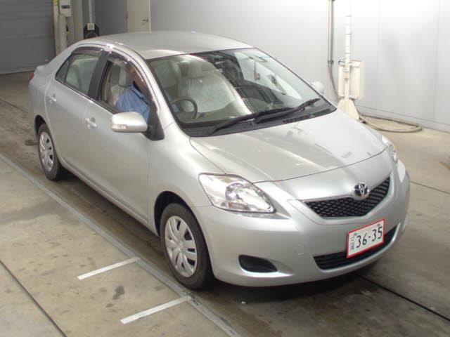 Toyota Belta Front