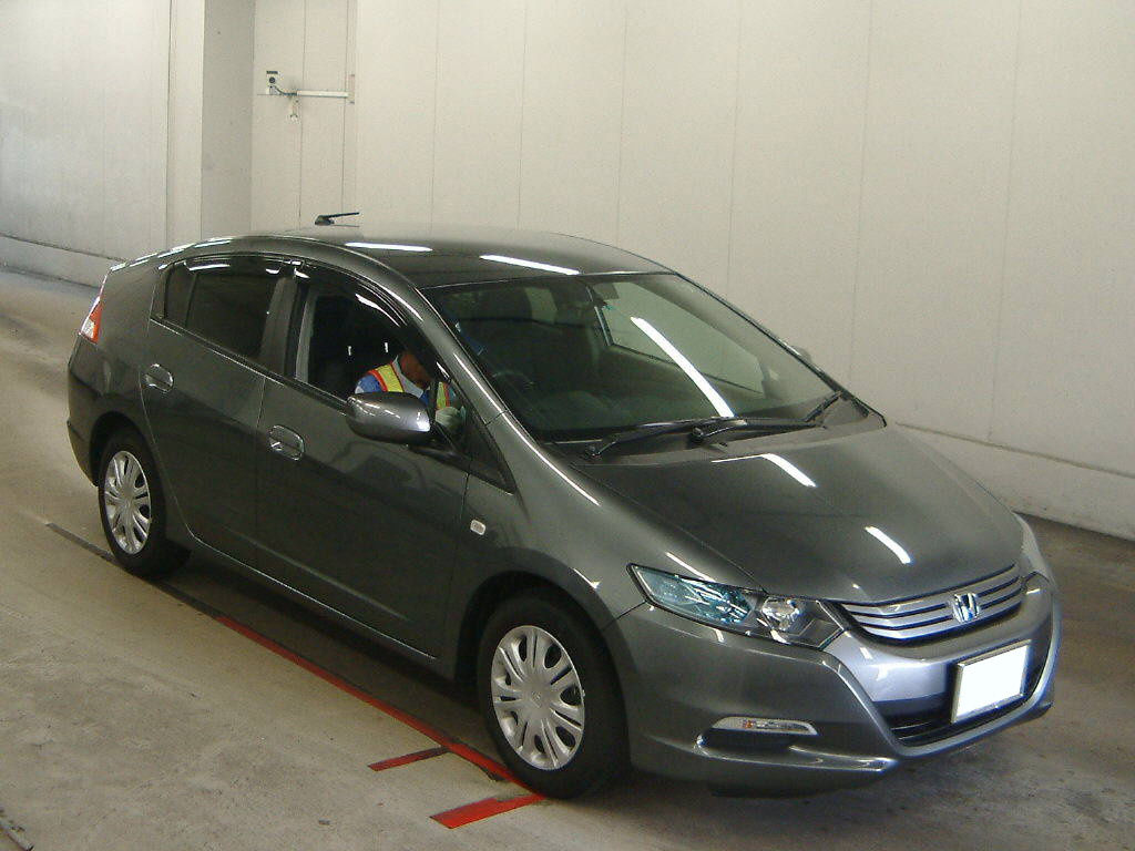 Honda Insight 2009 in Japan auto auction