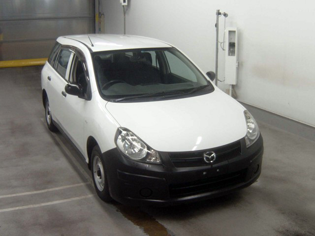 Mazda Familia 2007 in Japan car auction