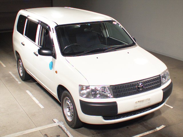 Used Japanese Toyota Probox in Japanese Auction