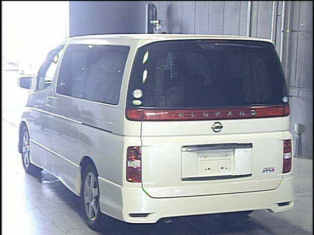 Used Elgrand 2008 in Japan Auto auction