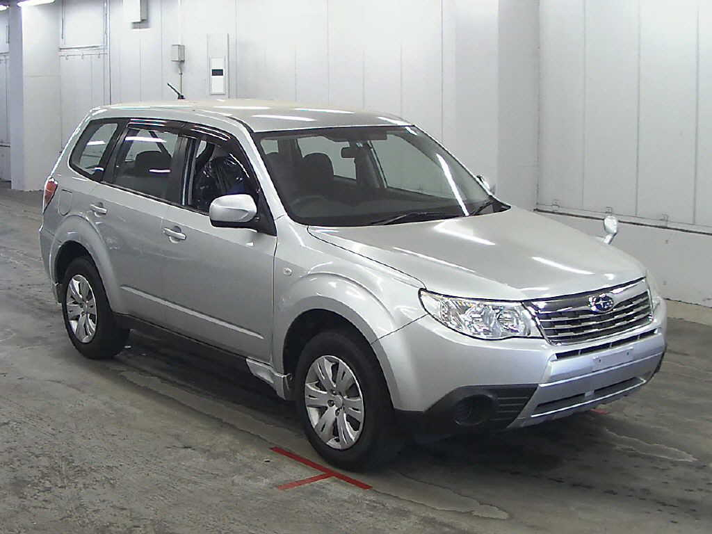 2008 Subaru Forester in Japan Auto auction