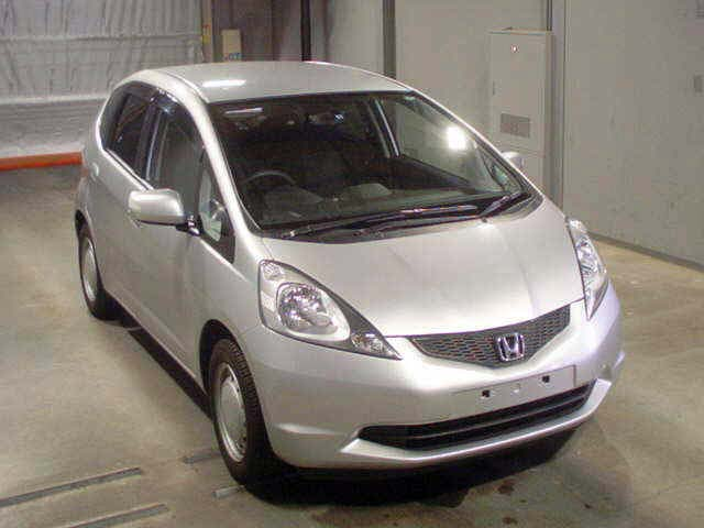2008 Honda Fit in Japanese Car auction