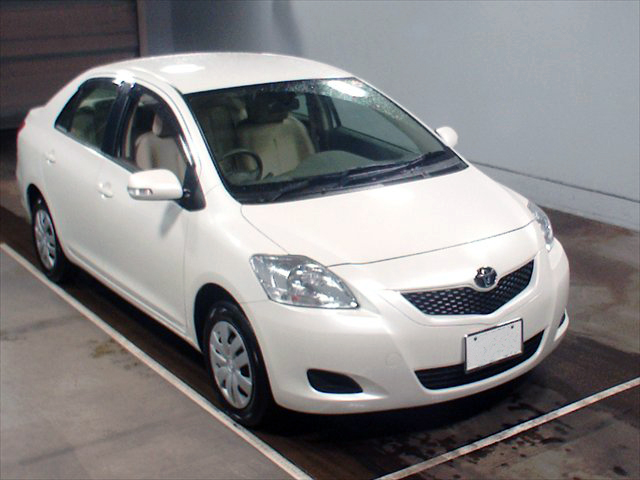 Toyota Belta 2008 in Japan cars auction