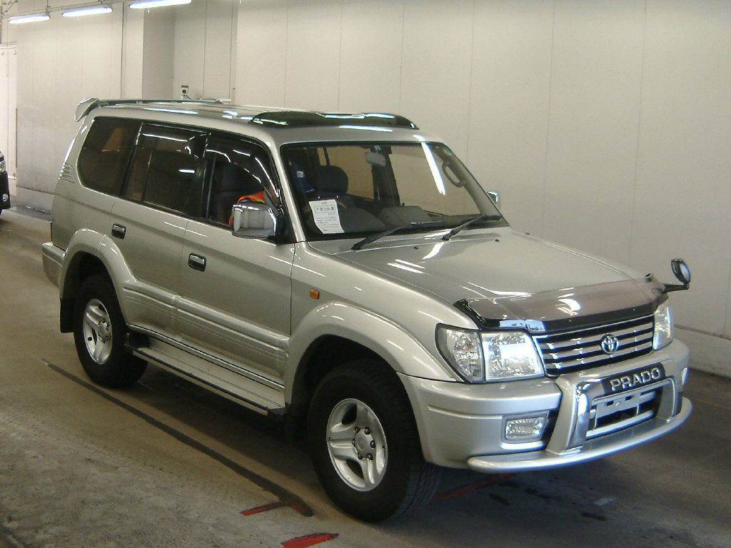 Used Toyota Land Cruiser Prado 2002 in Japan Auto auction