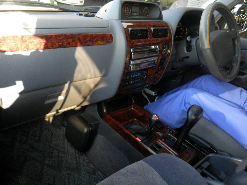 Interrior View of Used Toyota Land Cruiser Prado