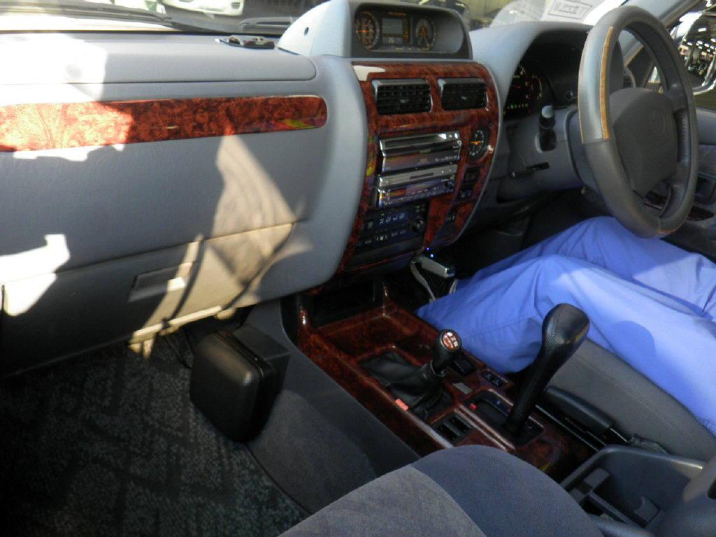 Interrior View of Used Toyota Land Cruiser Prado